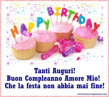 Buon Compleanno Amore Tante Frasi Buon Compleanno Amore