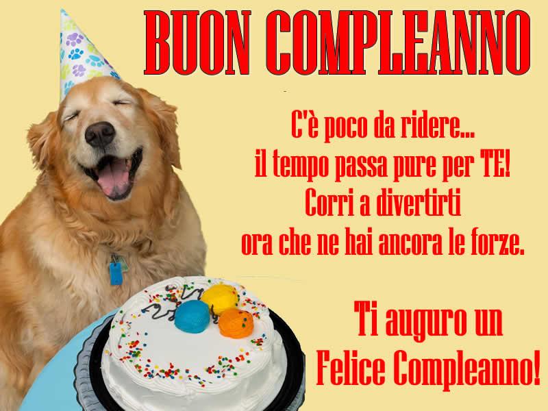 Conosciuto Buon Compleanno Whatsapp Facebook - Buon Compleanno Divertente NU24