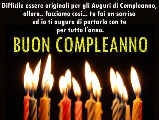 Amato Buon Compleanno - Sito dedicato agli auguri di Buon Compleanno FN69