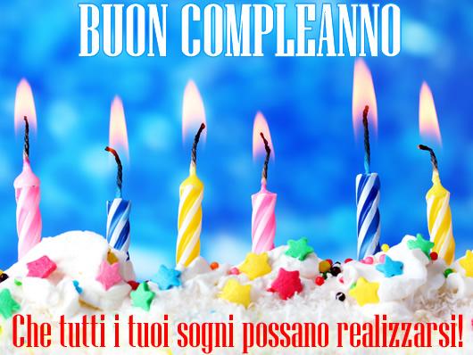 Souvent Auguri di Buon Compleanno - Cartolina Auguri di Buon Compleanno RK16