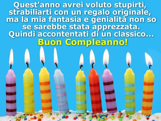Preferenza Buon Compleanno - Cartolina Buon Compleanno OP46