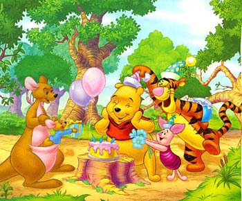 IMMAGINE COMPLEANNO POOH